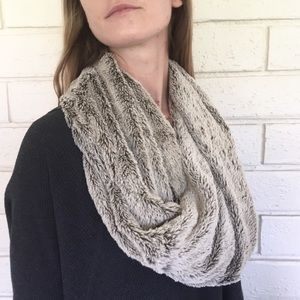 NORDSTROM Faux Fur Infinity Scarf
